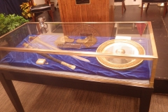 Sword on display